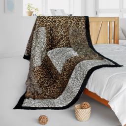 """Onitiva - Colorful Mood Patchwork Throw Blanket (61""""-86.6"""")"""