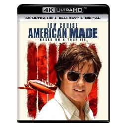 American made (blu-ray/4kuhd/ultraviolet/digital hd) BR61191043