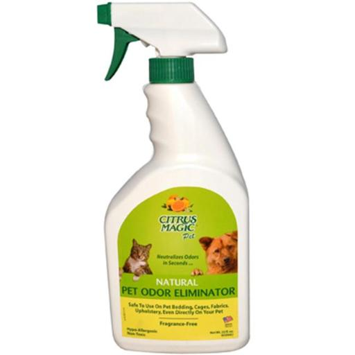 Citrus Magic 0450445 Pet Odor Eliminator - Trigger Spray - 22 fl oz E4644EEDB456CCBC