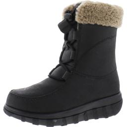 Fitflop Womens Loaff Leather Cold Weather Snow Boots