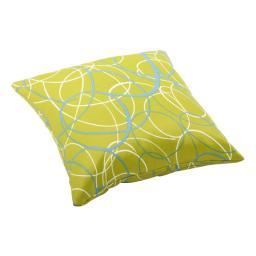 Zuo Bunny Pillow Large Olive Green Base with Pattern
