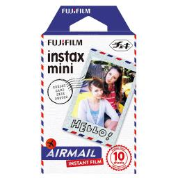 Fujifilm Instax Airmail Film Pack Instant Print Mini Cameras 4 Pack 40 Sheets