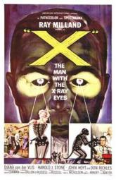 X the Man with X-Ray Eyes Movie Poster (11 x 17) MOV144080