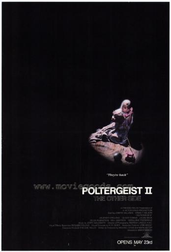 Poltergeist 2: The Other Side Movie Poster Print (27 x 40) ISQEVECH0IK2RI0T