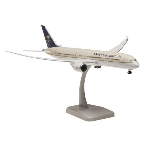 Hogan Wings HG10413G Saudia 787-9 1-200 with Gear 45648BB0BFD41149