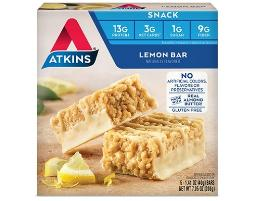 Atkins Snack Bar Lemon