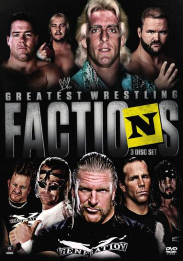 Wwe-presents wrestling greatest factions (dvd/single disc) J4PQ1BJ6GOET0SOH