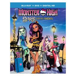 Monster high-scaris city of frights (blu ray/dvd combo w/digital hd) BR63127505