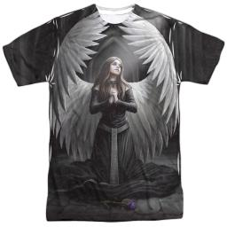 Anne Stokes Prayer For The Fallen (Front Back Print) Mens Sublimation Polyester Shirt
