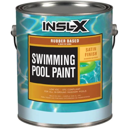 Insl-X WR1010092-01 20 lbs. White Water Borne Pool Paint - Gallon, Pack Of 2