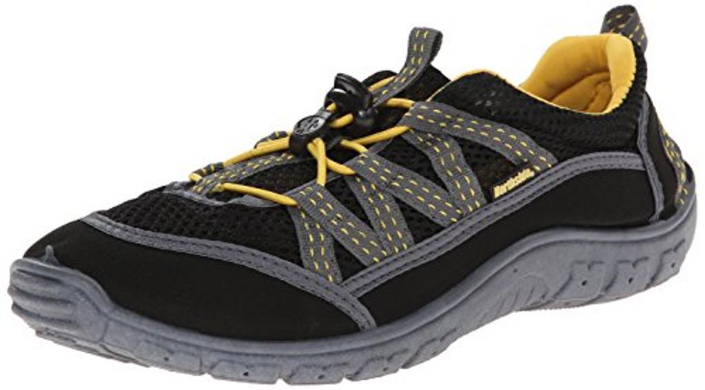 Northside Unisex Brille II Athletic Water Shoe,Black/Yellow,12 M US