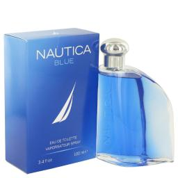 NAUTICA BLUE Eau De Toilette Spray 3.4 oz For Men 100% authentic perfect as a gift or just everyday use