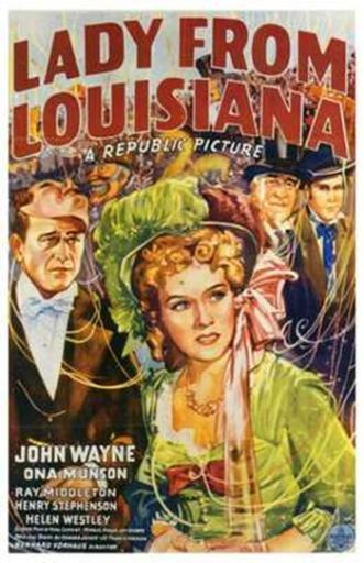 Lady from Louisiana Movie Poster (11 x 17) Z0GLQEIXRHFBJK1O
