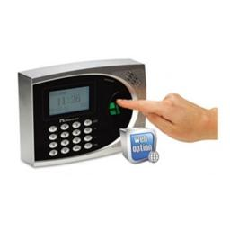 Acroprint Time Recorder 010250000 timeQplus Biometric Time & Attendance System, Automated