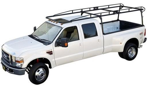 Kargo Master 0600-0 Black Side Channel Rack for Full Size Extended Cab