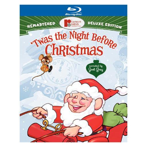 Twas the night before christmas (blu-ray/deluxe edition/2 disc) WEJO1B827FAJSIFC