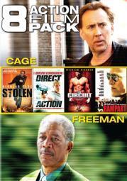 8 action film pack (dvd) (2discs)                             nla DME51699D