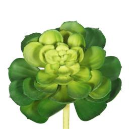 Vickerman FA170601 Green Plastic Plant Succulent - Pack of 6