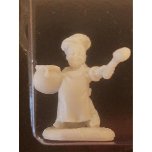 Reaper Miniatures REM77462 28mm Dark Heaven Bones Halfling Cook Pack Mint of Miniature Games 453FBCFA4759D5