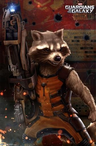 Marvel Guardians of the Galaxy - Rocket Raccoon Poster Print 7G4OWBB7QOCANTE7