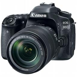 Canon 1263C006 EOS 80D Digital Camera with 18-135 mm Lens