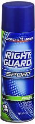 Right Guard Sport Antiperspirant & Deodorant Aerosol Fresh - 6 oz, Pack of 4