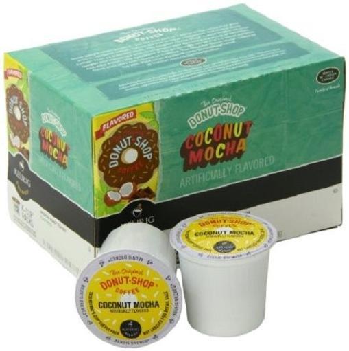 Donut Shop Coffee Coconut Mocha Keurig K Cup 1638256