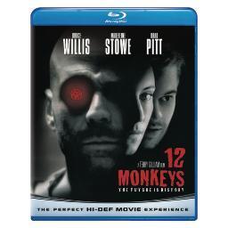 12 monkeys (blu ray) (ws/eng sdh/span/dts-hd) BR61110389