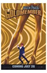 Austin Powers in Goldmember Movie Poster (11 x 17) MOV214361