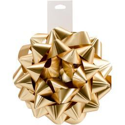 """Carnival Bow 6"""" Gold"""