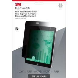 3M Mobile Interactive Solution Pftap001 Ipad Air 2 Easy-On Privacy Filter, Portrait. Case Pack 5 PFTAP001