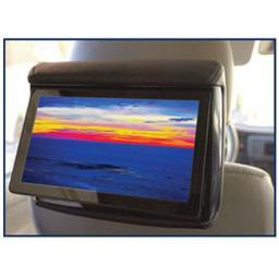Concept enterprises rss905 chameleon rear seat entertainment 9 lcd for active headrests  3 color covers