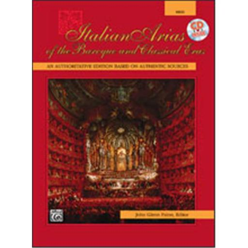 Alfred 00-4982 Italian Arias of the Baroque and Classical Eras - Music Book