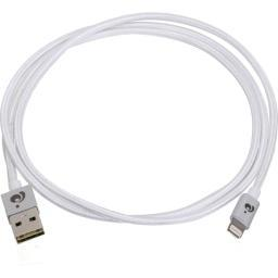 Iogear gaul01-sil reversible usb-lightning cable