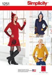 SIMPLICITY DRESS 4-6-8-10-12