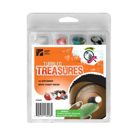 American Educational Products 2969 Explore With Me Geology - Tumbled Treasures