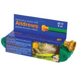 A.m. Andrews 70-12350 20 in. Green Sprinkler & Soaker Hose