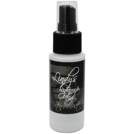 Lindy's Stamp Gang Starburst Spray 2oz Bottle-Black Orchid Silver GHSSYBYAPHTXROET
