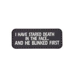 5ive-star-gear-6664-i-have-stared-death-military-pvc-morale-patch-2-75-x-1-pqi5lfroogg30un9