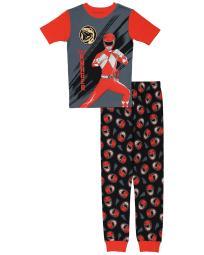 Ame 2pc Power Rangers Pajama Set