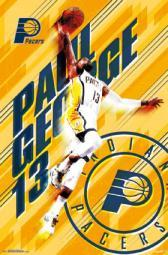 Indiana Pacers - Paul George 15 Poster Poster Print TIARP14503