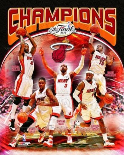 Miami Heat 2012 NBA Champions Composite Sports Photo Z6QLTMXTD5ADQ39V
