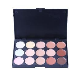 Nude Matte Series 15-Color Eyeshadow Palette LS-15AALMU