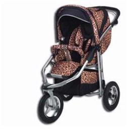 Baby Bling Design Company BBV333P Metamorphosis All Terrain Jogging Stroller in Vicaroy