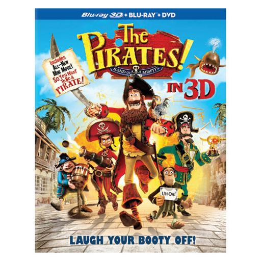 Pirates-band of misfits (3d-br/dvd/br combo pack/3 disc) (3-d) KZY4VHF3RYDKHITZ