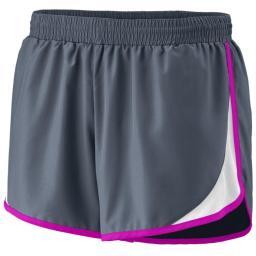 Augusta Sportswear Women'S Junior Fit Adrenaline Short L Graphite/White/Power... 1267.557.L