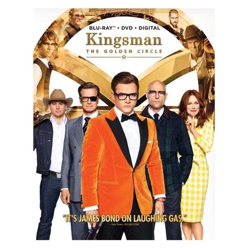 Kingsman 2-golden circle (blu-ray/dvd/digital hd) 2XFWQVPODRW7DTHD