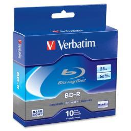 Verbatim 97238 25gb 6x blu-ray disc(r) bd-r (10-ct spindle) 97238