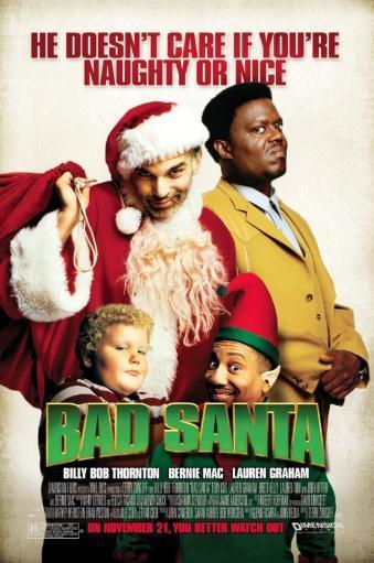 Bad Santa Movie Poster Print - One Sheet Poster Poster Print