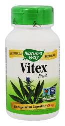 Nature's Way Vitex Fruit - 400 mg - 100 Capsules